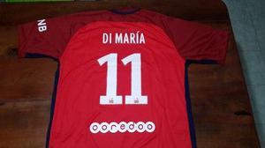 Camiseta suplente roja - psg 2017 - angel di maria 06ba6414e4dd3
