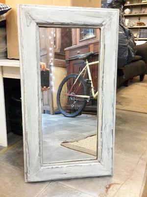 Espejo marco alto clasf for Espejo marco wengue
