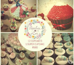 Mesas dulces, tortas, cupcakes, cookies, cakepops, shots