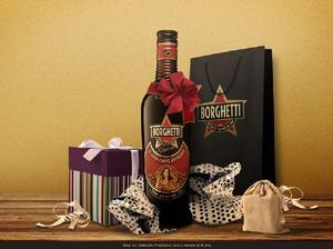 Borguetti, bebida de cacao y cafe.
