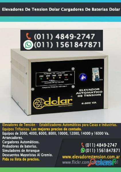 Elevador de tensión 40 a | 8 kva | 8000 watts
