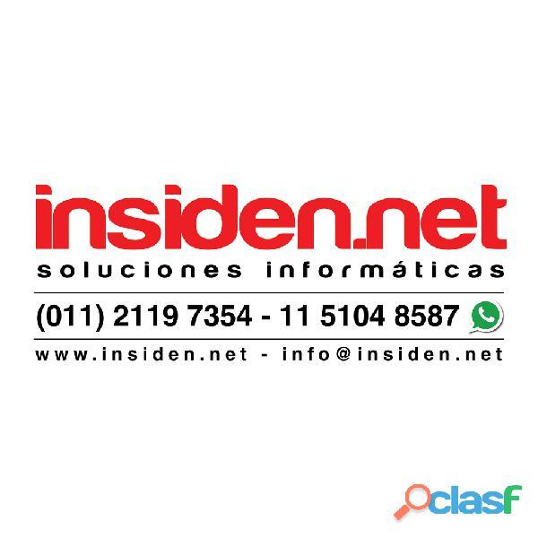 Insiden.net soluciones informáticas redes cableados abonos