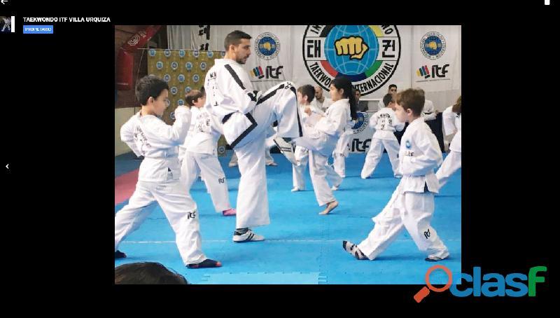 Cursos de taekwondo itf villa urquiza aulas virtuales