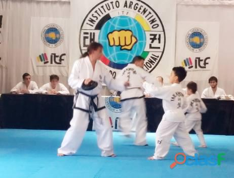 VILLA URQUIZA Y Parque Chas TAEKWONDO ITF Arismendi 2686