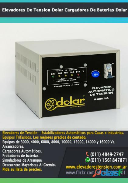 Linea : Elevadores de Tensión Automáticos Marca Dolar 2