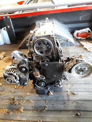 Motor completo y caja de velocidad