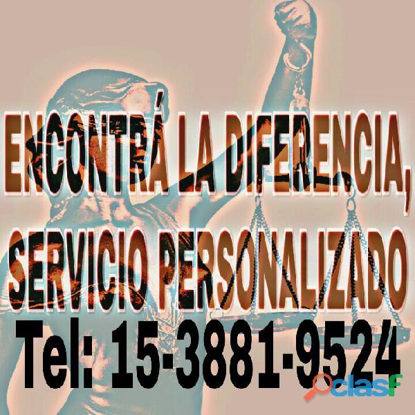 Abogados penal/ civil/ familia/ despidos