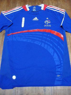 Camiseta seleccion francesa de futbol talle m original