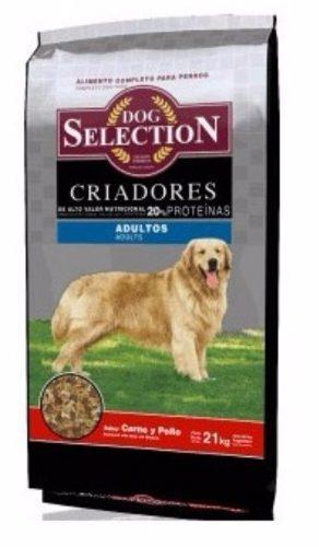 Dog selection criadores 21 kg perros adultos envíos gratis