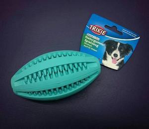 Juguete perro trixie - pelota rugby denta fun