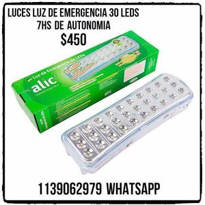 Luces de emergencia 30led