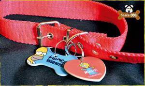 Medalla chapita identificatoria para mascotas, perros,gatos