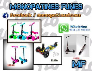 Monopatin y scooter