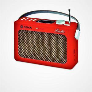 Radio spica diseño retro.