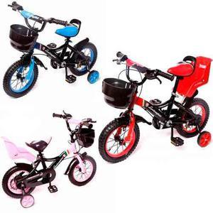 Bicicleta infantil niño niña rodado12 lamborghini acero