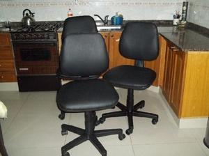 3 sillas de oficina !!! cada una $ 600 llevo a domicilio