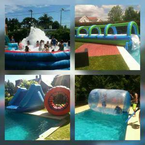 Alquiler de inflables saltarines-deportivos-acuaticos