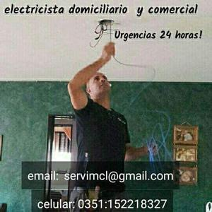 Electricista en córdoba capital.urgencias