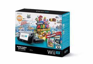 Nintendo wiiu+3 juegos