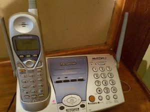 Telefono panasonic inalambrico, no tiene internos
