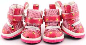 Botitas zapatos antideslizantes perros gatos