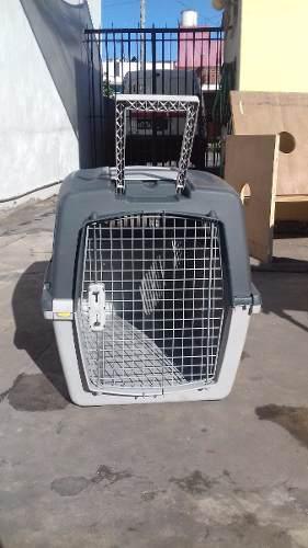 Caja transportadora gulliver 5 para perros o gatos