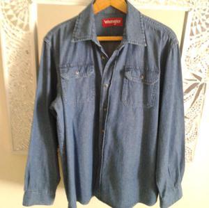 e9222505af Camisa de jean wrangler en Argentina 【 REBAJAS Junio 】 | Clasf ...