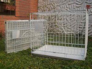 Canil perro gato jaula cria plegable epoxi pet shop beto