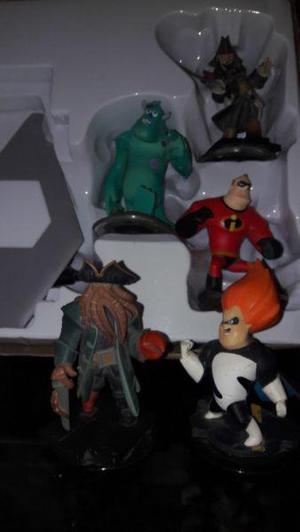 Disney infinity para xbox dos muñecos extra