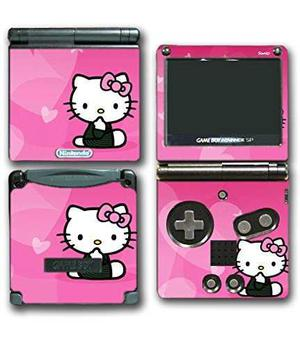 Hello kitty lindo rosa corazón curioso videojuego vinilo et