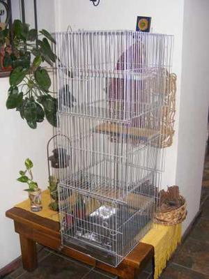 Jaula de 5 pisos chinchilla cobayo