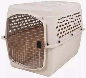 Jaula transportadora canil caja vari kennel 122x81x89cm iata