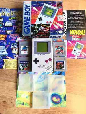 Nintendo game boy clásico video game portatil