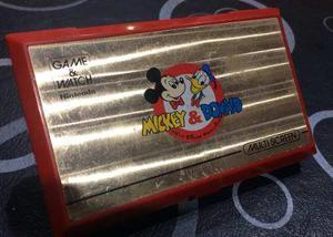 Nintendo game & watch mickey & donald