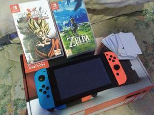 Nintendo switch muchos juegos