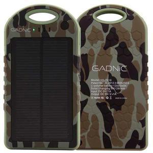 Power bank solar 13000 mah portatil auto cargador solar