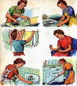 Señora se ofrece para quehaceres domésticos