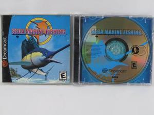 Vgl - sega marine fishing - dreamcast
