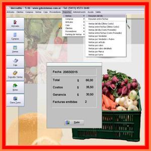 Programa mercadito ▤▥ fácil manejo para
