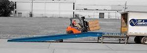 Rampa movil para carga y descarga