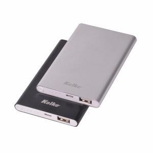 Bateria cargador power bank kolke 4400 mah + adaptadores