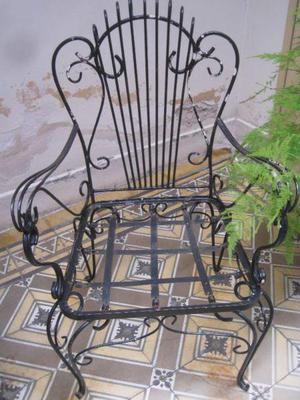 Sillones hierro jardin anuncios junio clasf for Juego de jardin de hierro antiguo