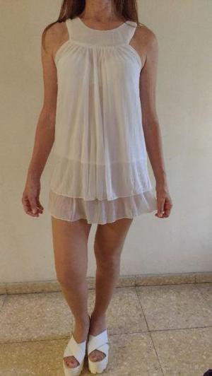 Imagenes de vestidos playeros blancos
