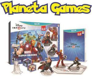 Disney infinity 2.0 marvel nintendo wii u pack caja cerrada