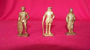 Figura soldado de metal, colección kinder sorpresa