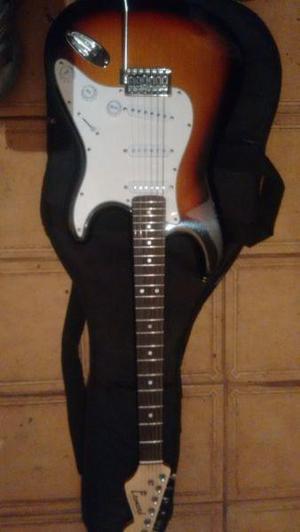 Guitarra amplificador y pedalera