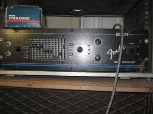 Amplificador fender bxr dual bass 400