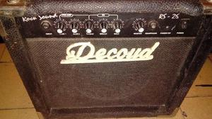 Amplificador de guitarra decoud rs26