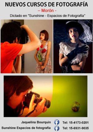 Cursos de fotografía en morón