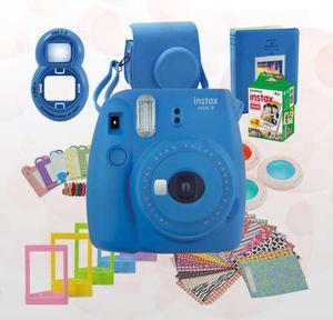 Fuji instax mini 9 marcos lentes funda selfie lens 20 fotos